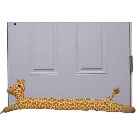 "Evelots Giraffe Door Window Draft Stopper-36.5""-No Noise,Bug,Insect-Keep Heat In - Set of 1"