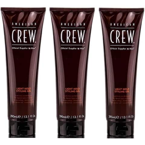 American Crew Light Hold Styling Gel 13.1 Ounce Pack Of 3