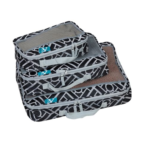 American Flyer Astor Collection Packing Cubes - 3-Piece Set