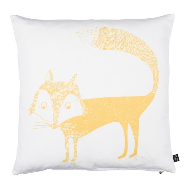 Eightmood Fox Throw Pillow