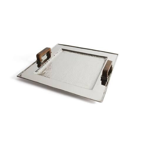 Hip Vintage Miles Nickel Aluminum Tray