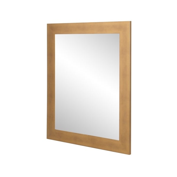 Brushed Gold Wall Mirror - Brushed Gold