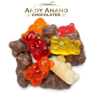 Link to Andy Anand Sugar Free Belgian Milk Chocolate Gummy Bear Similar Items in Gourmet Food Baskets