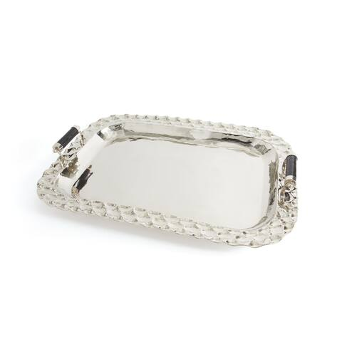 Hip Vintage Aldo Polished Nickel Tray