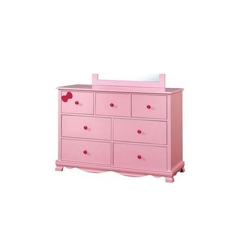 Furniture of America Jevi Contemporary 7-drawer Youth Dresser