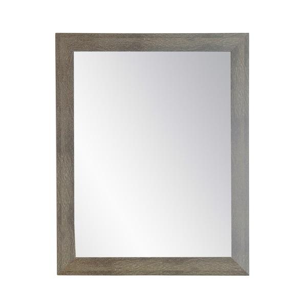 Farmhouse Olive Wall Mirror - Green/White
