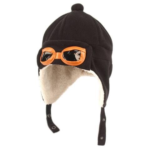 Peach Couture Kids Fleece Trooper Aviator Mohawk Hats Beanie