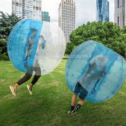 4.5ft Diameter Inflatable Bumper Ball Bubble Soccer Ball Blow Up Outdoor Toy