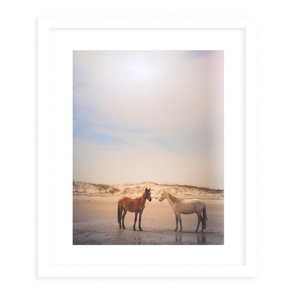FLORIDA GEORGIA NATURE White Framed Giclee Print By Olivia St. Claire