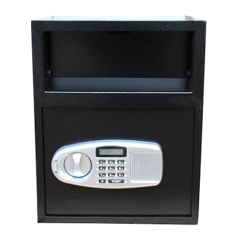 Home Office Security Deliver Type Digital Keypad Safe Black