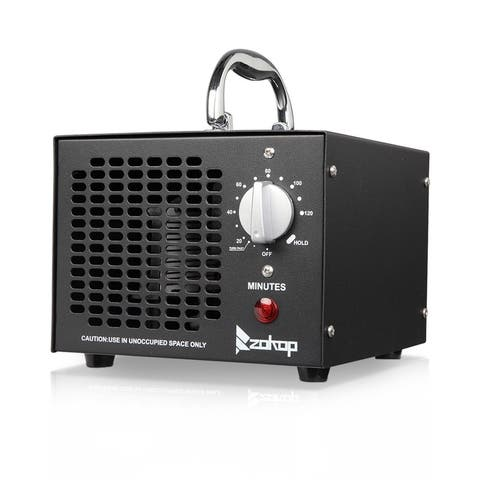 ZOKOP Commercial Industrial Grade 5000mg Ozone Air Purifier Removal of Formaldehyde/Second-Hand Smoke/Odor/Musty/Dust
