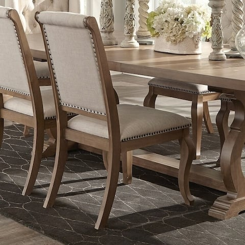 The Gray Barn Noon Blaze Tufted Back Upholstered Dining Chairs (Set of 2)