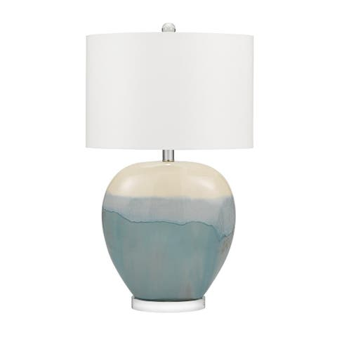 """Catalina Lighting Smooth Ceramic Table Lamp, LED Bulb Included, 31"""", 20998-001"""