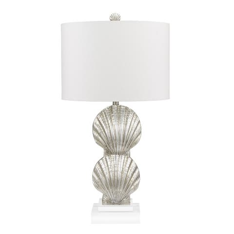"""Catalina Lighting Textured Acrylic Table Lamp, LED Bulb Included, 30"""", 21009-001"""