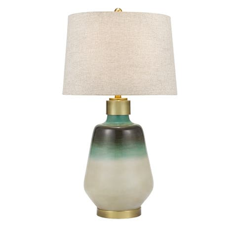 """Catalina Lighting Smooth Resin Table Lamp, LED Bulb Included, 32.5"""", 21020-001"""