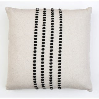 Link to 20x20 Wanda Yarn Stitch Woven Cotton Pillow Similar Items in Decorative Accessories