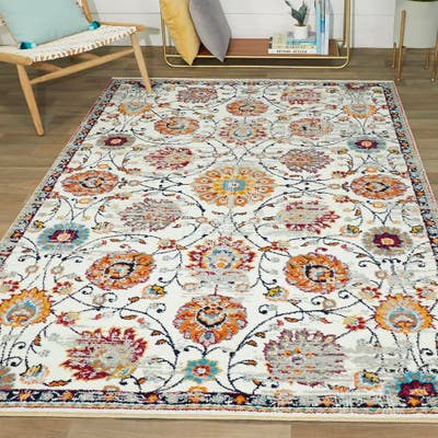 Red Global Area Rugs Online At