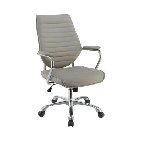 Porch & Den Springtooth Swivel and Height Adjustable Office Chair