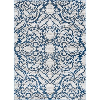 Link to Alise Rugs Carrington Traditional Geometric Area Rug Similar Items in French Country Rugs