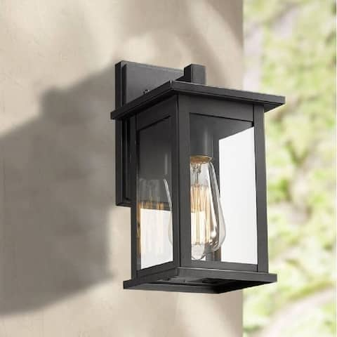 Outdoor Wall Lantern with Clear Glass