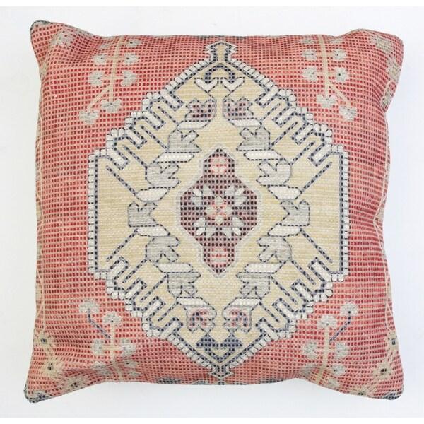 20x20 Filomena Bushra Printed Pillow