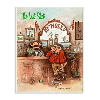 Link to Stupell Industries The Last Shot Funny Golf Cartoon Sports Design Wood Wall Art Similar Items in Wood Wall Art