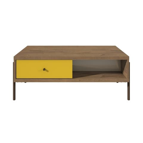 Joy Double-sided 2-Drawer End Table