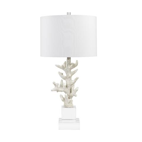 """Catalina Lighting Textured Acrylic Table Lamp, LED Bulb Included, 32.5"""", 21006-001"""