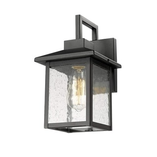 Kwan Outdoor 1-Light Armed Sconce
