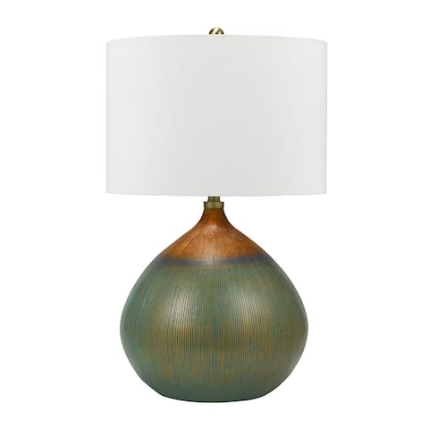 "Catalina Lighting Textured Resin Table Lamp, LED Bulb Included, 29.75"", 21085-001"
