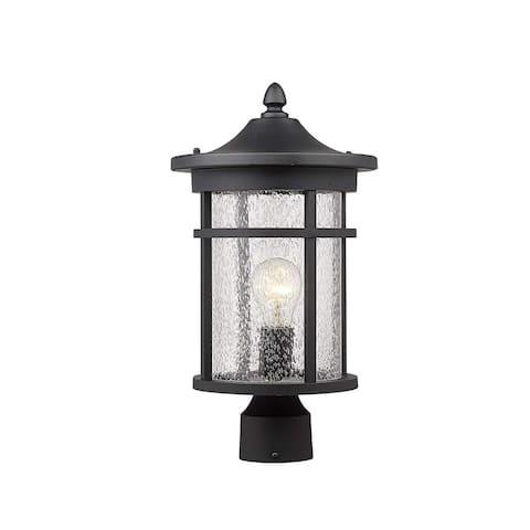 """16"""" Height Outdoor Patio Post Lantern for Pathway, Driveway, Front/Back Door"""