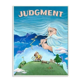 Link to Stupell Industries Judgement Funny Golf Cartoon Sports Design Wood Wall Art Similar Items in Wood Wall Art