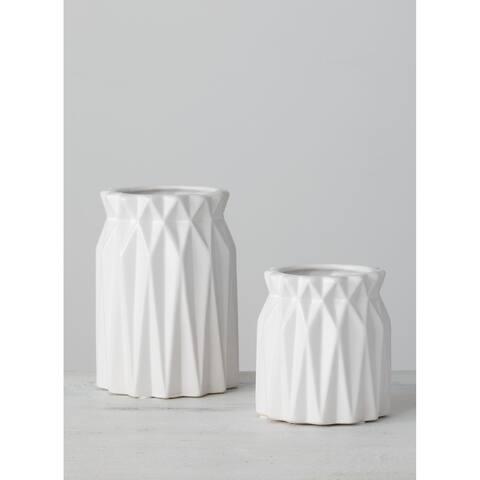 Origami Vase - Set of 2