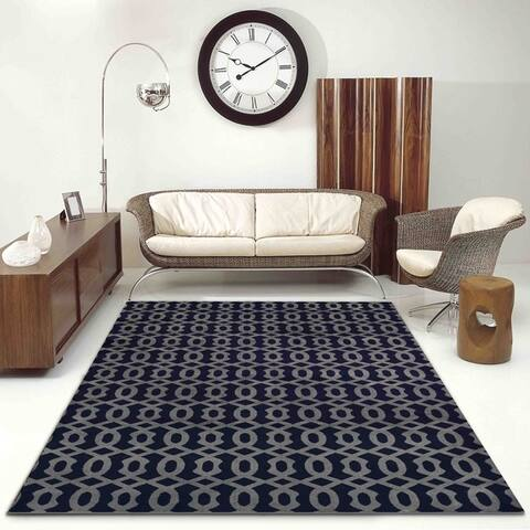 Admire Home Living Basilica Geometric Area Rug