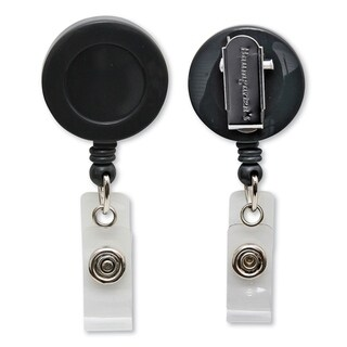 Link to Baumgartens Card Reel With EZ Clip Similar Items in Badges, Names & Signs