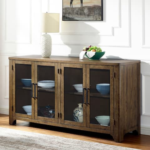 Langdon Farmhouse Walnut Server by Greyson Living