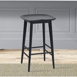 Link to Hendry Backless Solid Acacia Counter Stool by Greyson Living - Counter Stool Similar Items in Dining Room & Bar Furniture