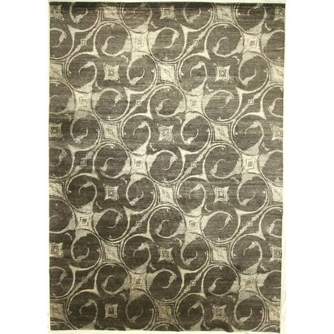 """Modern hand-knotted rug - 9'11"""" X 14'0"""""""
