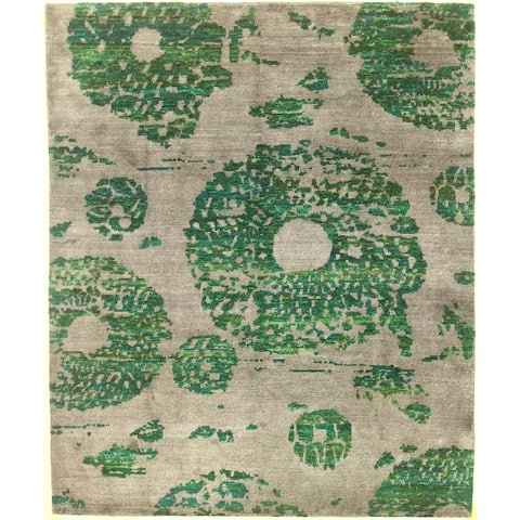 """Modern hand-knotted rug - 8'2"""" X 10'0"""""""