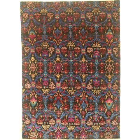 """Modern hand-knotted rug - 7'9"""" X 10'10"""""""