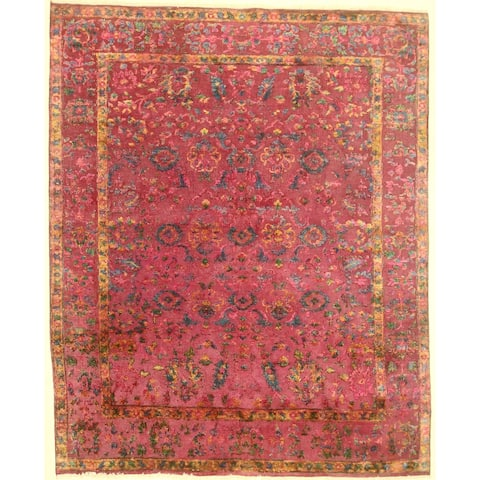 """Modern hand-knotted rug - 8'1"""" X 9'11"""""""