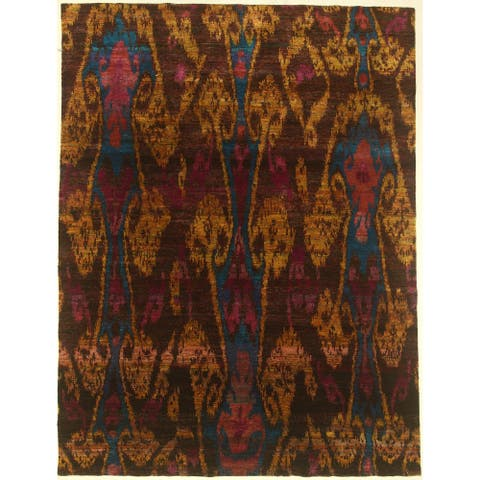 """Modern hand-knotted rug - 7'11"""" X 10'5"""""""