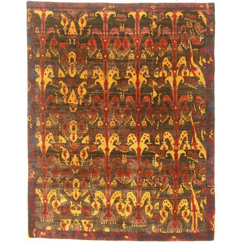 """Modern hand-knotted rug - 8'0"""" X 10'1"""""""
