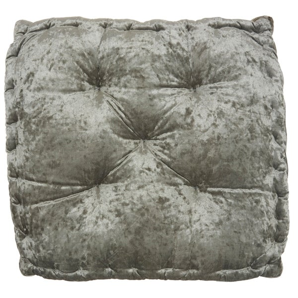 """Mina Victory Life Styles Grey Throw Pillow, (24"""" x 24"""" x 4""""). Opens flyout."""