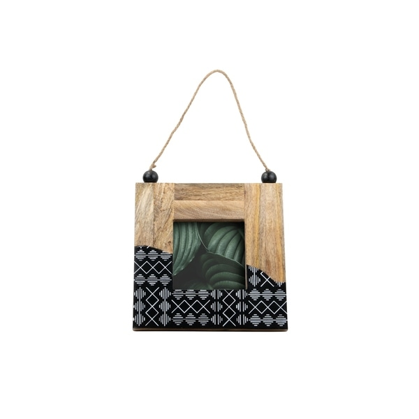 Foreside Home and Garden 5X5 Dipped Kuba Photo Frame