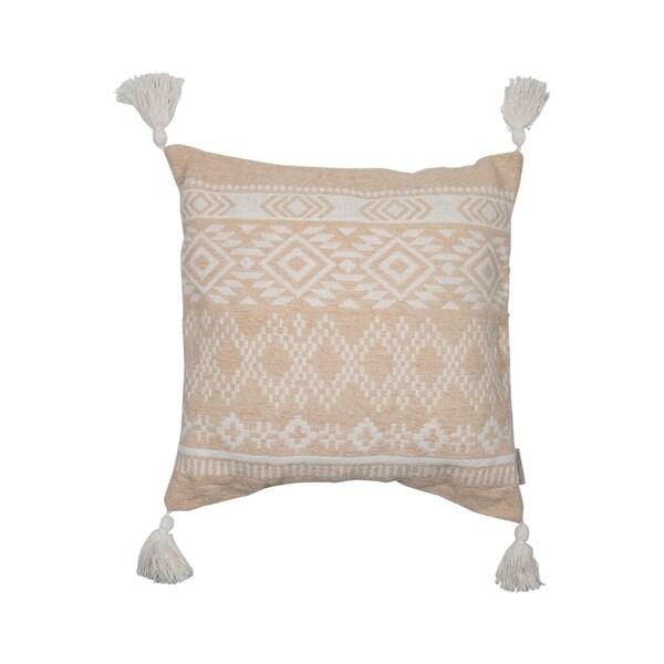 Foreside Home and Garden 20X20 Hand Woven Walt Pillow