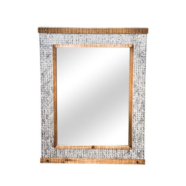 Foreside Home and Garden Dawson Mirror