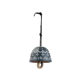 Foreside Home and Garden Cayo Terracotta Bell