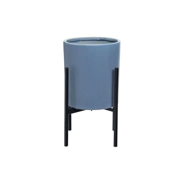 Foreside Home and Garden Peyton Planter Blue
