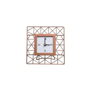 Foreside Home and Garden Mini Geo Clock